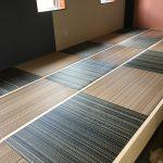 琉球風畳 珍しい柄の畳 ジオアース色